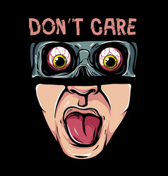 dont care vector image