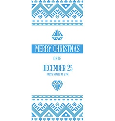 Happy New Year or Merry Christmas theme Save the vector image