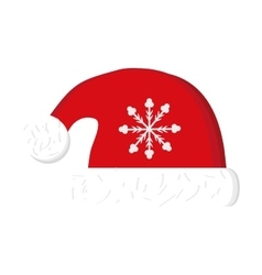 Hat of Christmas season design vector