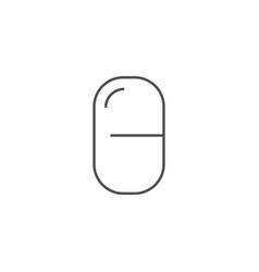 pills icon vector image