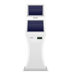 Terminal for receiving payments 02 vector