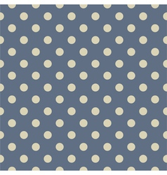 Tile pattern with grey polka dots on pastel blue vector