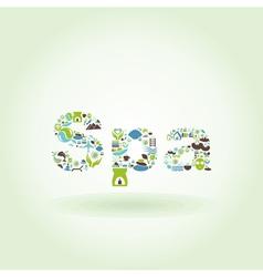 Spa5 vector image vector image
