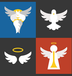 Christian sign and symbol vector