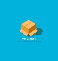 404 error website not found graphic design vector