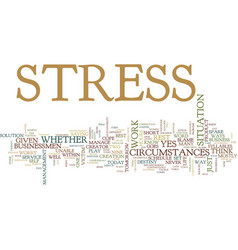 Best ways to reduce stress text background word vector