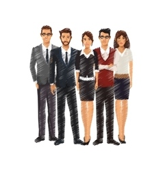 Businesspeople icon image vector