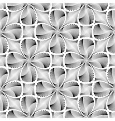 Design seamless decorative flower background vector