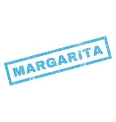 Margarita Rubber Stamp vector image