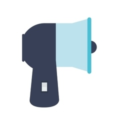 megaphone speak icon design vector image