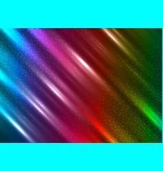 Rainbow sparkles background vector