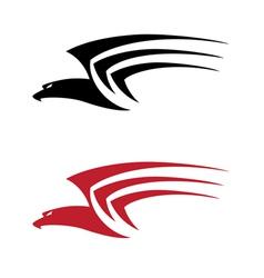 tatoo big hawk vector image