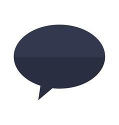 bubble chat icon design vector image vector image