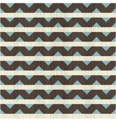 Horizontal wave pattern with strike through vector image vector image