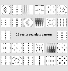24 seamless pattern backgrounds repairs vector