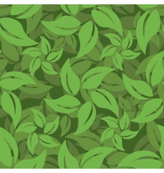 Abstract leaf pattern vector image vector image