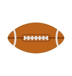 American football rugby ball vector