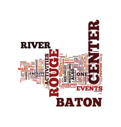 Baton rouge sports radio text background word vector