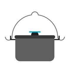 camping related icon image vector image