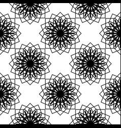 design seamless monochrome decorative pattern vector image