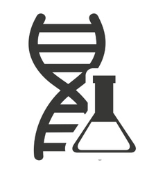 Dna molecule with tube test vector