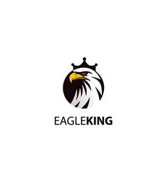 Eagle king logo - elegant high quality design vector