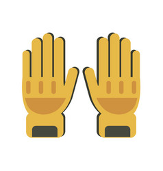 Gloves protection icon image vector