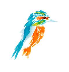 Isolated birds birds flying vector