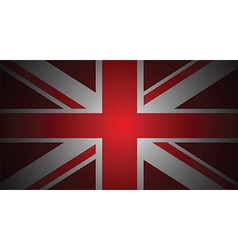 Red uk flag vector