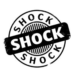 Shock rubber stamp vector