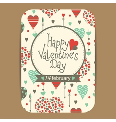 Valentine greeting vector