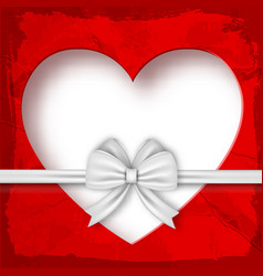 valentines gift composition vector image