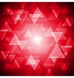 Red colourful background vector image vector image