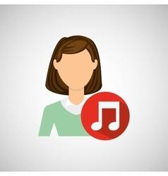 user avatar design vector image