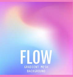 abstract multicolored bright gradient mesh vector image