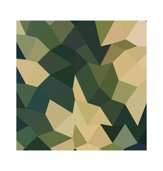 Dark Olive Green Abstract Low Polygon Background vector image