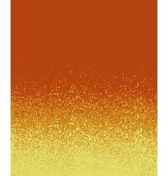 Graffiti spray painted orange yellow gradient vector