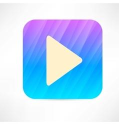 Play icon vector image