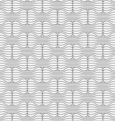 Slim gray striped rounded bolts vector