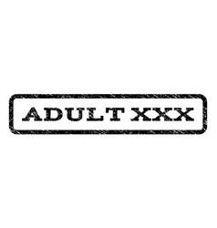 adult xxx watermark stamp vector image vector image