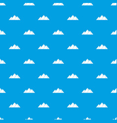 pyramids in giza pattern seamless blue vector image