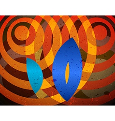 Abstract difraction view vector image vector image
