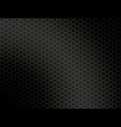 Abstract dark metalic background vector