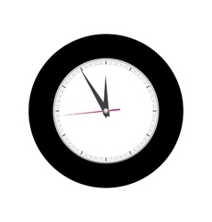 Alarm clock on white background vector
