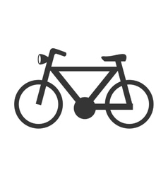 Bike and cycling graphic design vector image