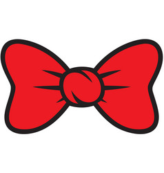 bow ties collection design vector image