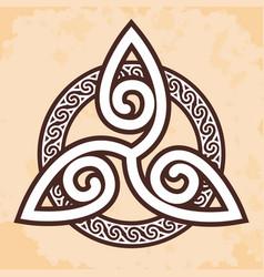 celtic national ornament vector image
