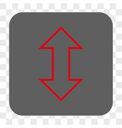 Exchange Vertical Rounded Square Button vector