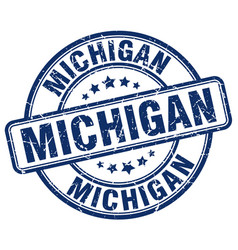 Michigan stamp vector
