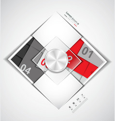 Modern business template style vector image vector image